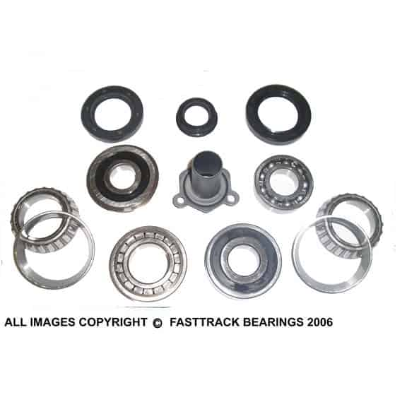 Bmw Mini R50 Gearbox Rebuild Kit Plus Front Cover Fast Track Bearings